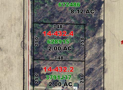 2 Acres Forest View Rd., Grover, WI 54157
