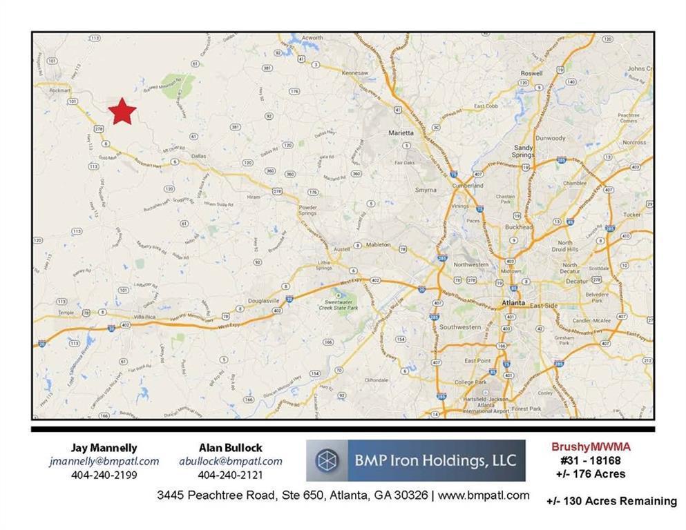 Brushy Mountain Rd., Braswell, GA 30153